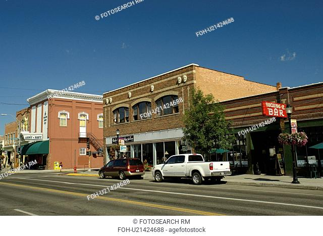 Bozeman, MT, Montana, downtown