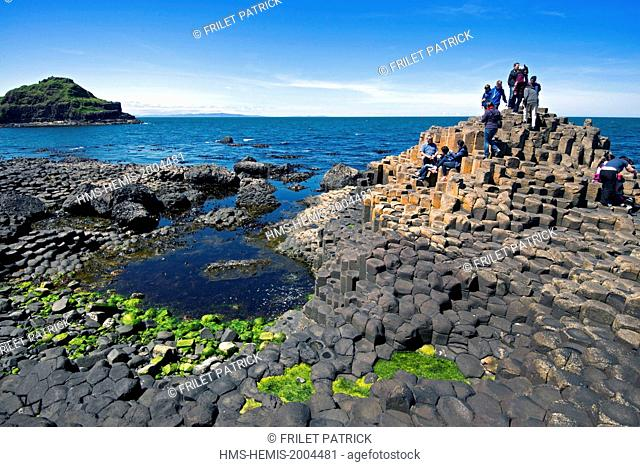 United Kingdom, Northern Ireland, County Antrim, the Giants Causeway listed as World Heritage by UNESCO