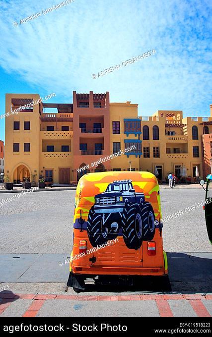 City square in El-Gouna