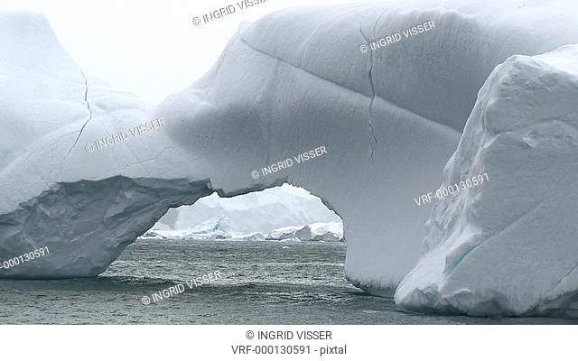 Iceberg. Mikkelson Harbour, Antarctic peninsula