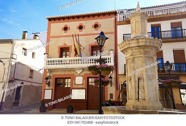 Font de la Figuera on Saint James way of Levante in Valencia Camino de Santiago