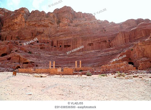 Petra, Jordan, Middle East -- it is a symbol of Jordan, as well as Jordan's most-visited tourist attraction. Petra has been a UNESCO World Heritage Site since...