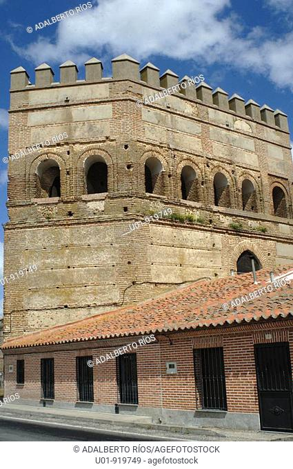 Puerta de Cantalapiedra. Madrigal de las Altas Torres. Avila province. Castile-Leon. Spain