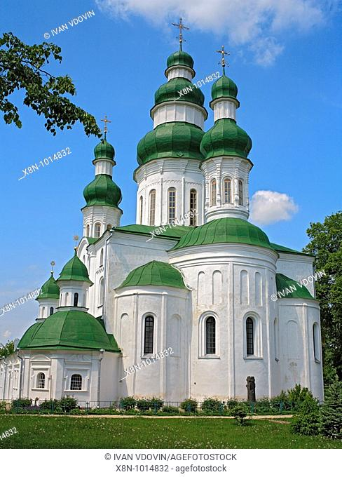 Dormition cathedral of Eletskiy monastery, Chernigov, Ukraine