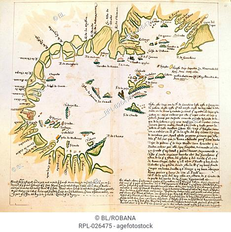The Bay of Panama, Whole chart Chart of the Bay of Panama, between Point Guarachine and the island of Gallera Image taken from Charts of Pacific Coasts of...