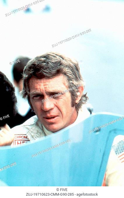 Jun 23, 1971; Hollywood, CA, USA; STEVE MCQUEEN as Michael Delaney in the action adventure 'Le Mans' directed by Lee H. Katzin