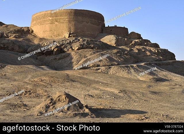 Iran, Yazd, Unesco World Heritage Site, Zoroastrian tower of silence