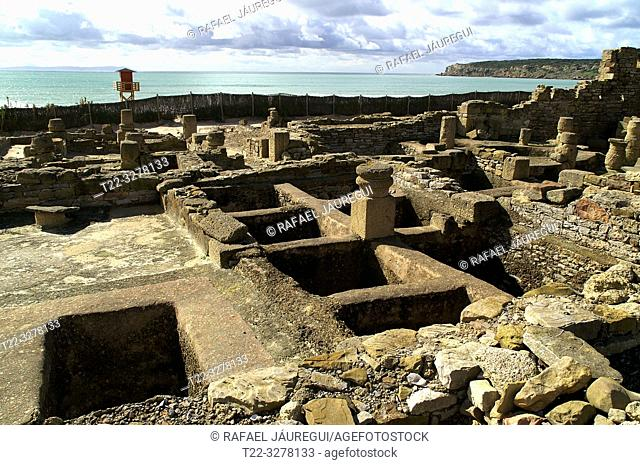 Rate (Spain). Facilities for the manufacture of Garum in the Roman city of Baelo Claudia