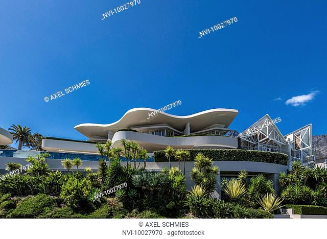 Modern architecture, Camps Bay, Cape Town, South Africa