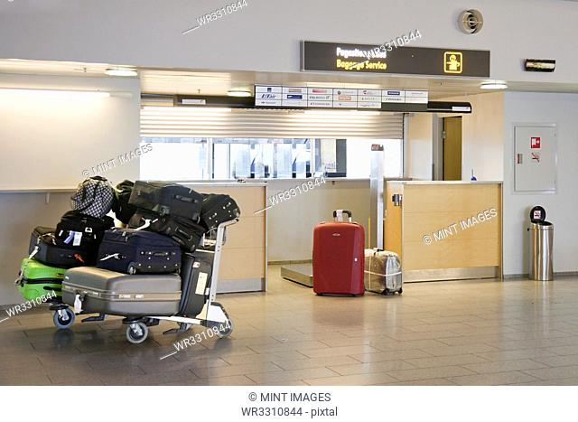 Airport Baggage Area