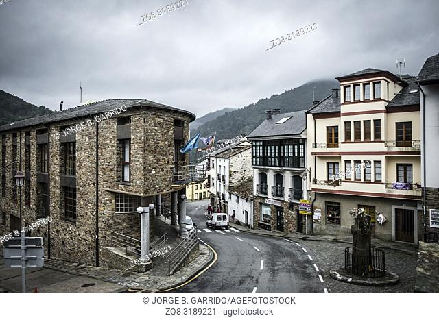 Taramundi, small and beatiful village in the midle of the mountains, Asturias, Spain