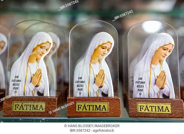 Madonna figures, religious kitsch, Cova da Iria, Fátima, Santarém District, Portugal