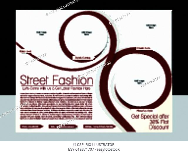 Street Fashion Flyer Template
