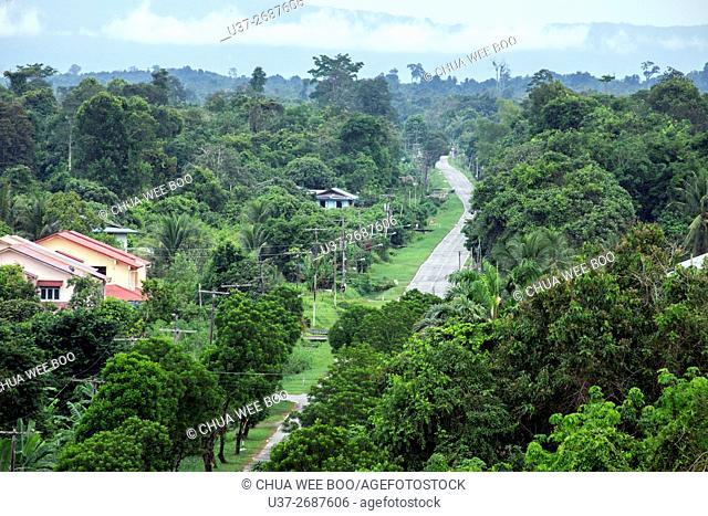 Bandar Sri Aman road, Sarawak, Malaysia