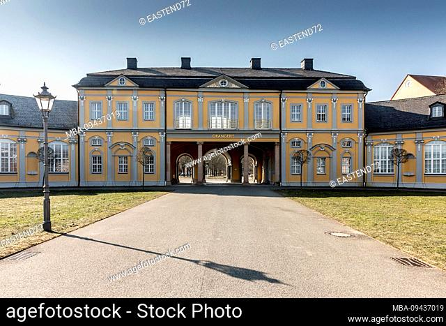 Germany, Thuringia, Gera, Orangerie, built between 1729 and 1932, landmark of the city of Gera
