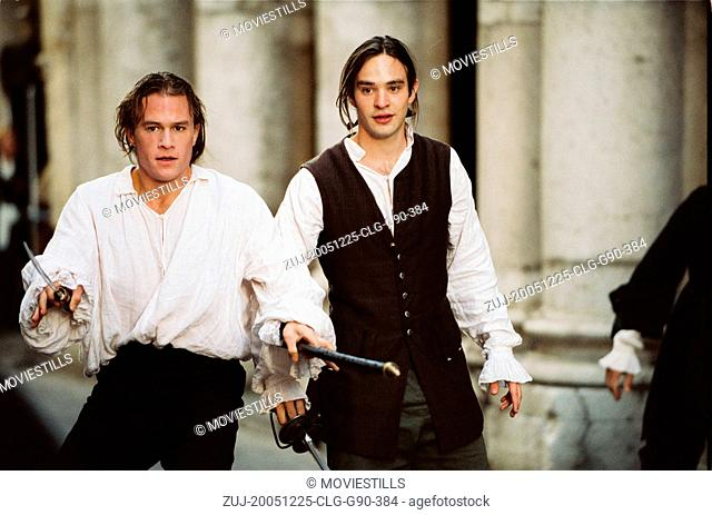 RELEASED: Sep 3, 2005 - Original Film Title: Casanova. PICTURED: HEATH LEDGER stars as Lord Jacomo Casanova and CHARLIE COX as Giovanni Bruni