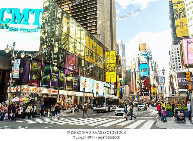 New York City, USA, Street Scenes, Time's Square Neighborhood, District,