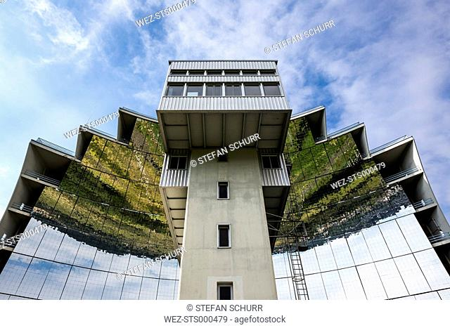 France, Pyrenees-Orientales, Solar forge Four solaire d'Odeillo in Font-Romeu-Odeillo-Via