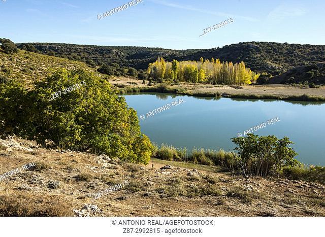 Monumento Natural Laguna del arquillo. Sierra de Alcaraz. Masegoso. Albacete Province. Spain