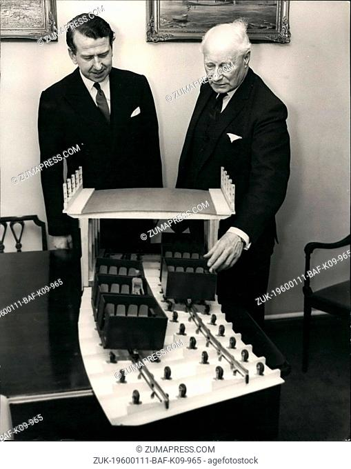 1972 - Complete Loop of I.A.A.S. Traffic report 'Overhead system' to be built in London. Shadow Minister of Transport sees model of 'Passenveyor'. Mr