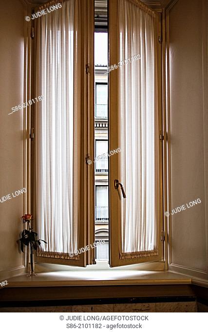 Through a Milan, Italy Window