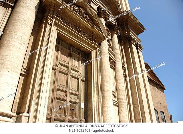 Santi Martino e Luca Church, The Roman Forum, Campitelli, Rome, Lazio, Italy, Europe