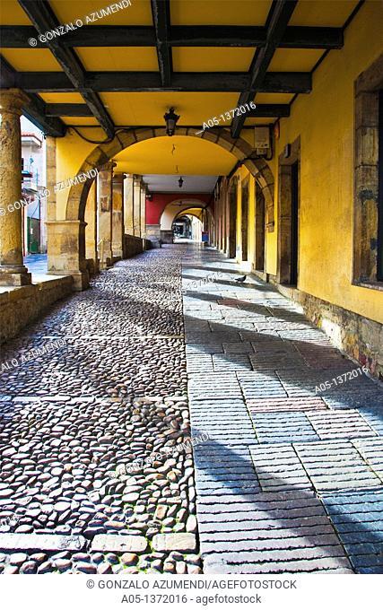 Galiana Street  Aviles  Asturias  Spain