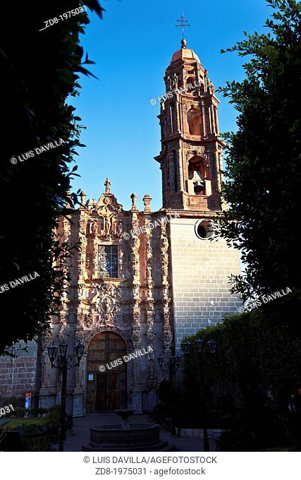 san miguel de allende.mexico.san francisco church