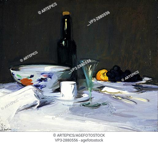 Samuel John Peploe - The Black Bottle - National Galleries of Scotland