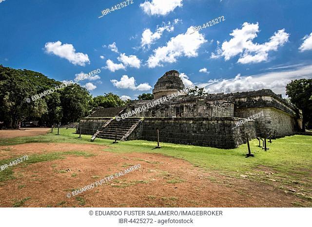 El Caracol, the Observatory, Chichen Itza, Yucatan, Mexico