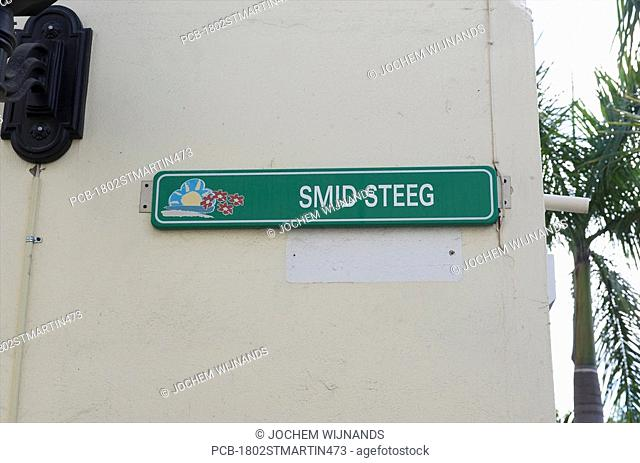 Sint Maarten, Philipsburg, Dutch streetnames