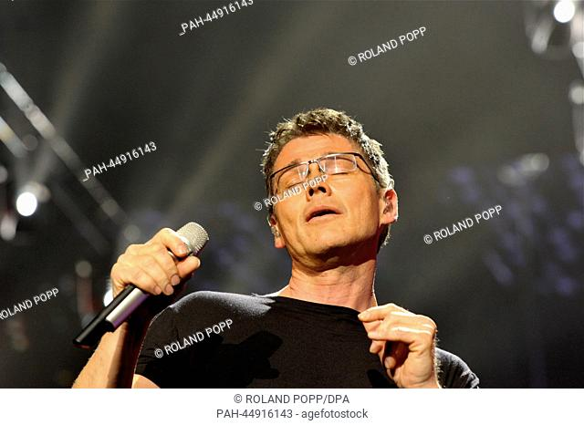 The Norwegian singer Morten Harket on stage at the AIDA-Night of the Proms show in Berlin, Germany, 19 December 2013. Photo: Roland Popp/dpa -NOWIRESERVICE- |...