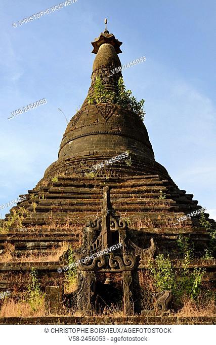 Myanmar, Rakhine State, Mrauk U, Mongkhon Shwegu pagoda