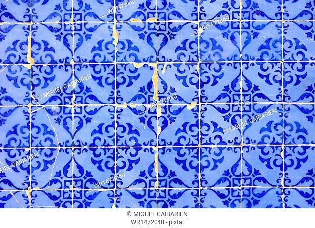 Tiles, Azulejos, Lisbon, Portugal, Europe