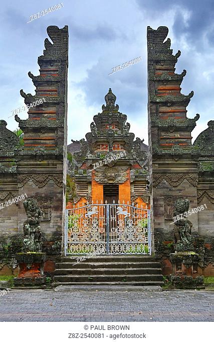 Temple in the Bali Museum, Denpasar, Bali, Indonesia