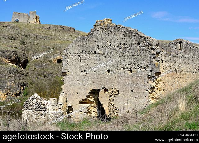 Ruins of Las Ermitonas and Los Sampedros, San Miguel de Bernuy, Segovia, Spain