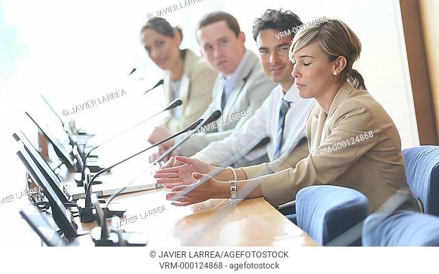 Executives Conference, Congress building, Business, San Sebastian Technology Park, Donostia, San Sebastian, Gipuzkoa, Basque Country, Spain