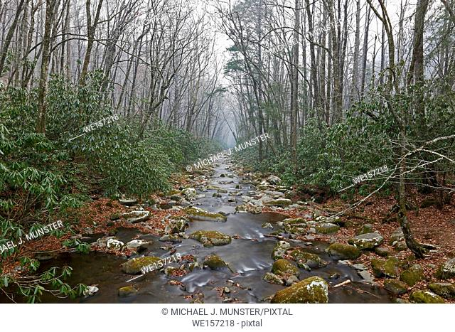 Great Smoky Mountains National Park in Tennessee-North Carolina