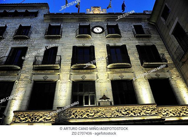 Council Theatre. Girona, Spain