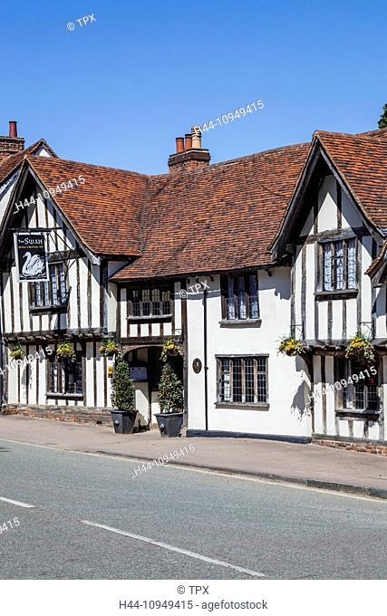 United Kingdom, British Isles, Great Britain, Europe, Britain, England, Suffolk, Lavenham, Swan Hotel, Hotel, Hotels, Pub, Pubs, Historical, Gabled