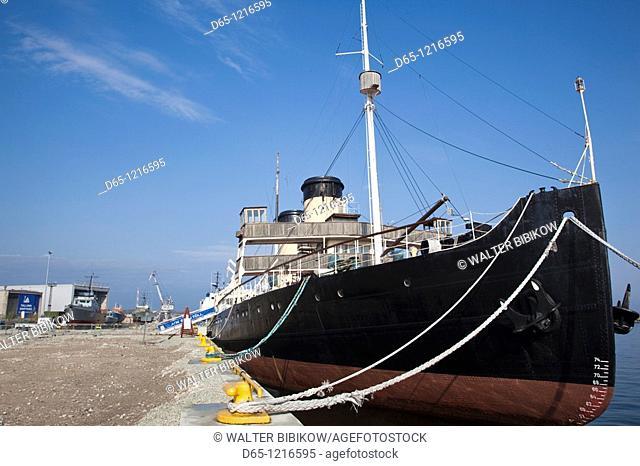 Estonia, Tallinn, Estonian Maritime Museum, Europe's largest steam-powered icebreaker, Suur Toll  b  1914