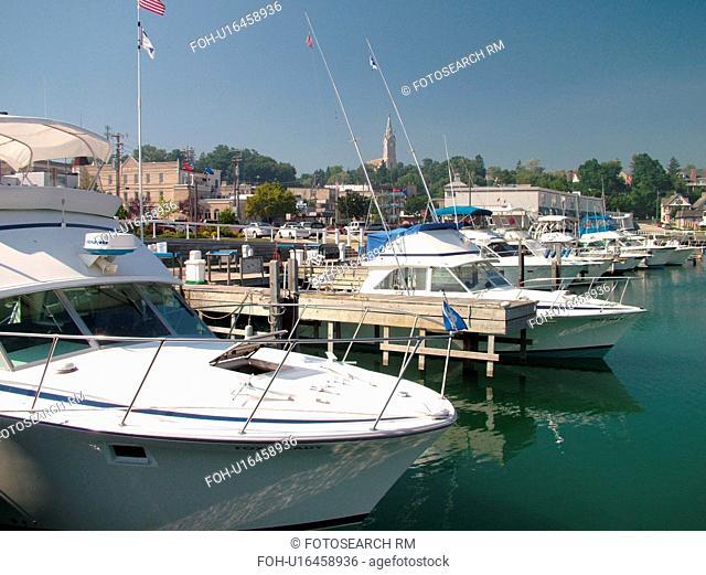 Port Washington, WI, Wisconsin, Lake Michigan, marina, harbor