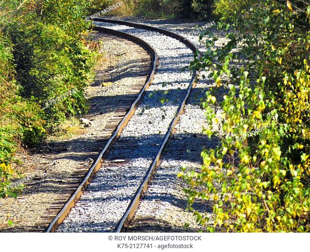 rural railroad tracks