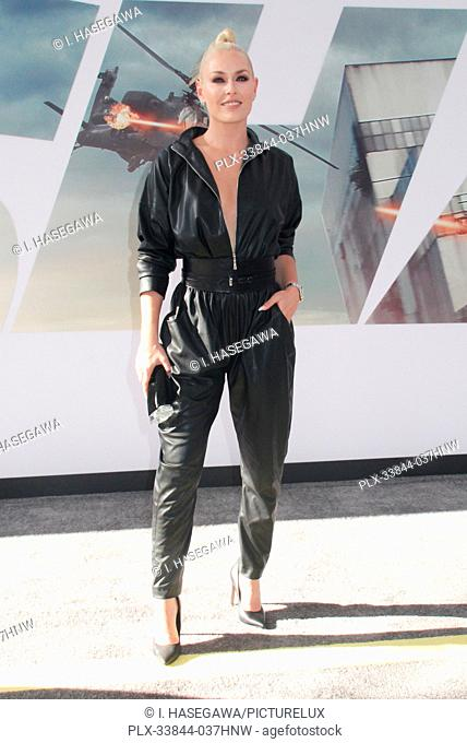 "Lindsey Vonn 07/13/2019 The world premiere of """"Fast & Furious Presents: Hobbs & Shaw"""" held at the Dolby Theatre in Los Angeles, CA Photo by I"