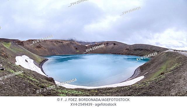 Krafla, Volvanic crater. Myvatn area. Iceland