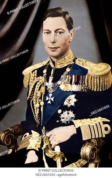 'His Majesty King George VI', c1936. Artist: Captain P North