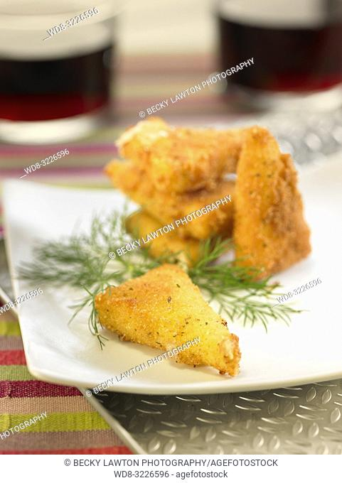 frito de queso manchego / fried manchego cheese