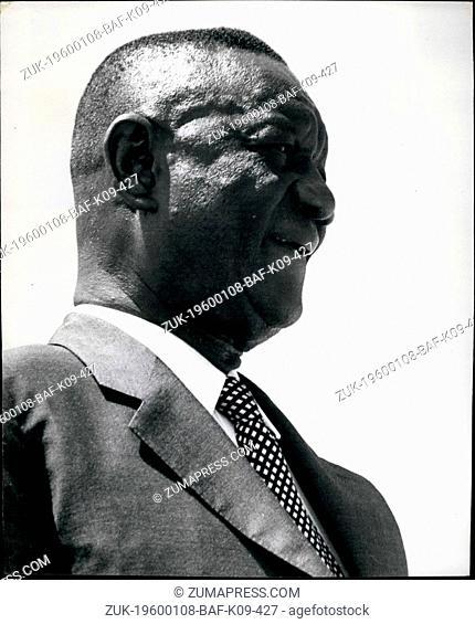 Feb. 28, 2012 - Siaka Probyn Stevens, president of Sierra Leone. Born 1905. Educated Freetown, Ruskin college Oxford, Legislative Council, 1951