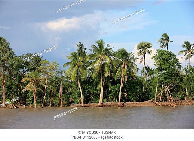 Rupsha River Khulana, Bangladesh
