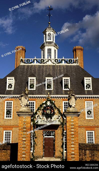 Governors Palace Colonial Williamsburg, Virginia